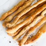 Breadsticks Recipe (Grissini) That's Crispy & Easy