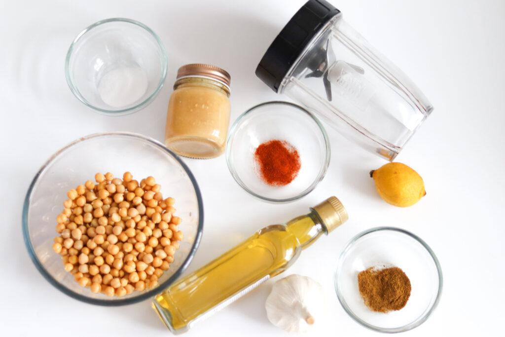 Hummus recipe ingredients