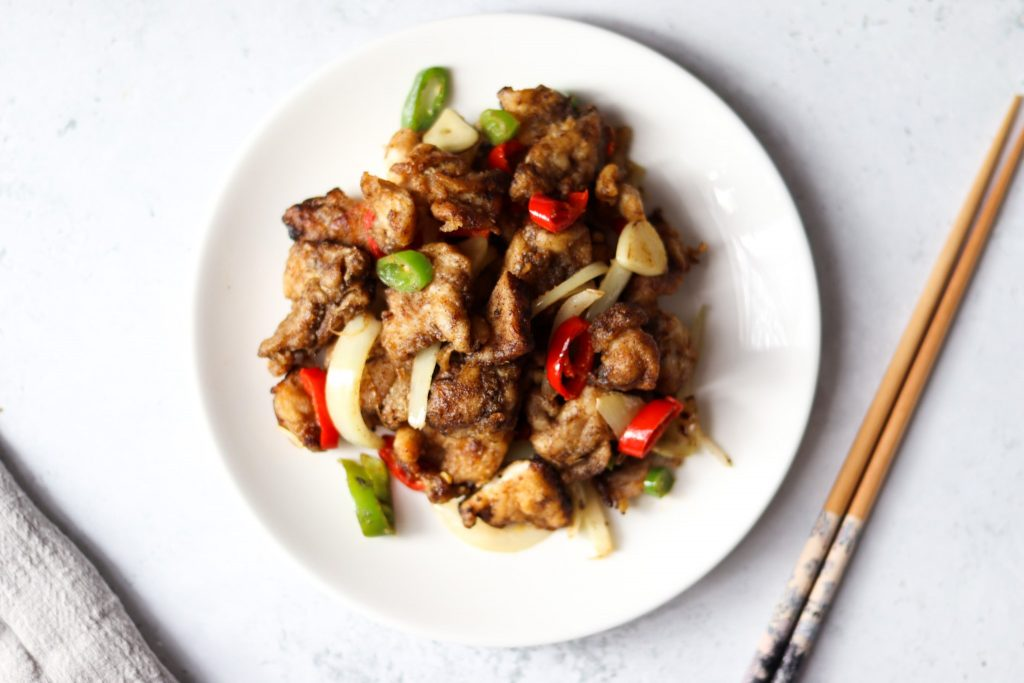 Salt and pepper chicken seasoning mix to make this fakeaway.