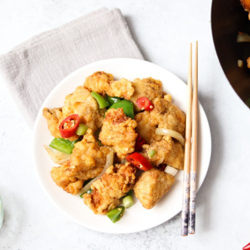 Salt & chilli chicken Chinese takeaway fakeaway recipe