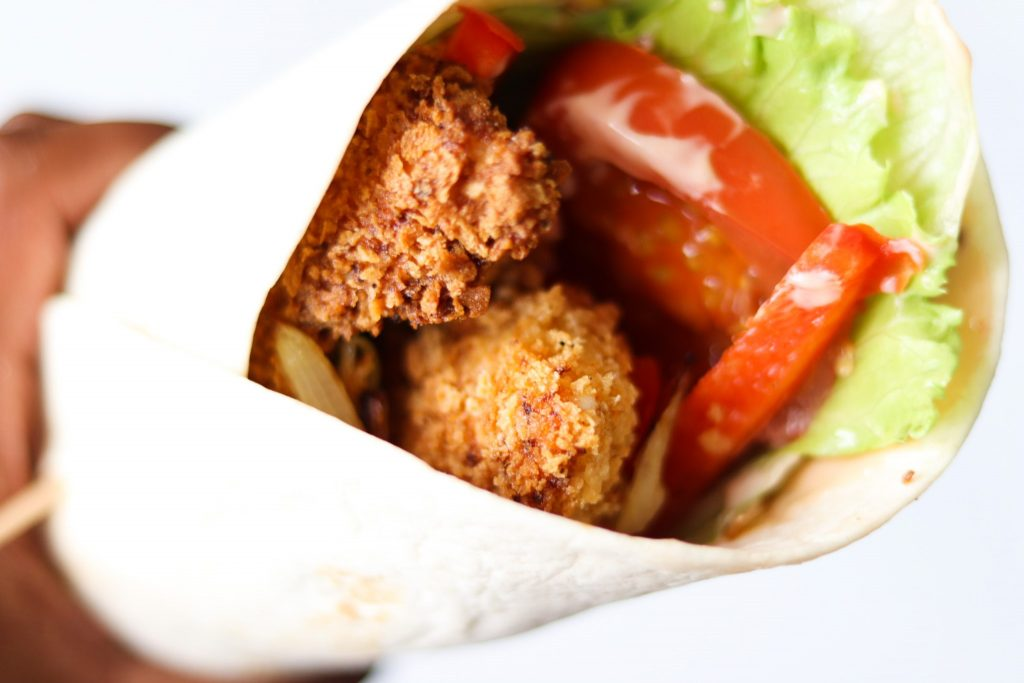 Tesco southern fried chicken wrap recipe