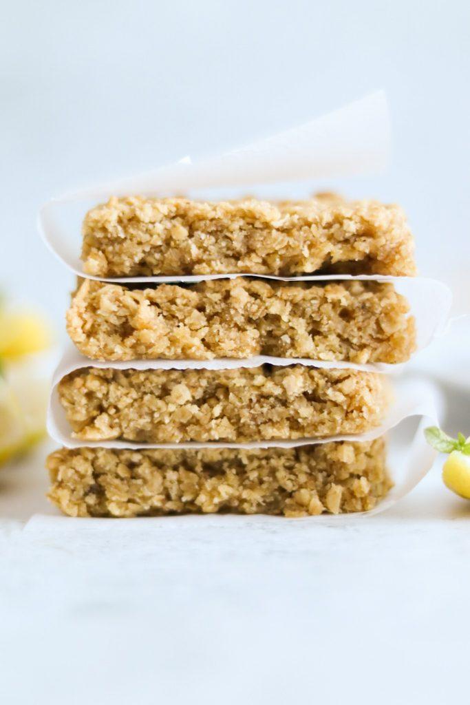 Lemon drizzle flapjack recipe