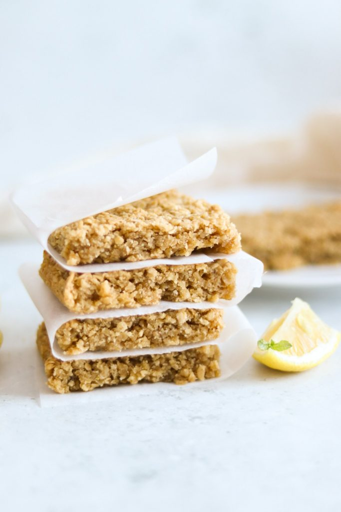 Lemon flapjacks recipe