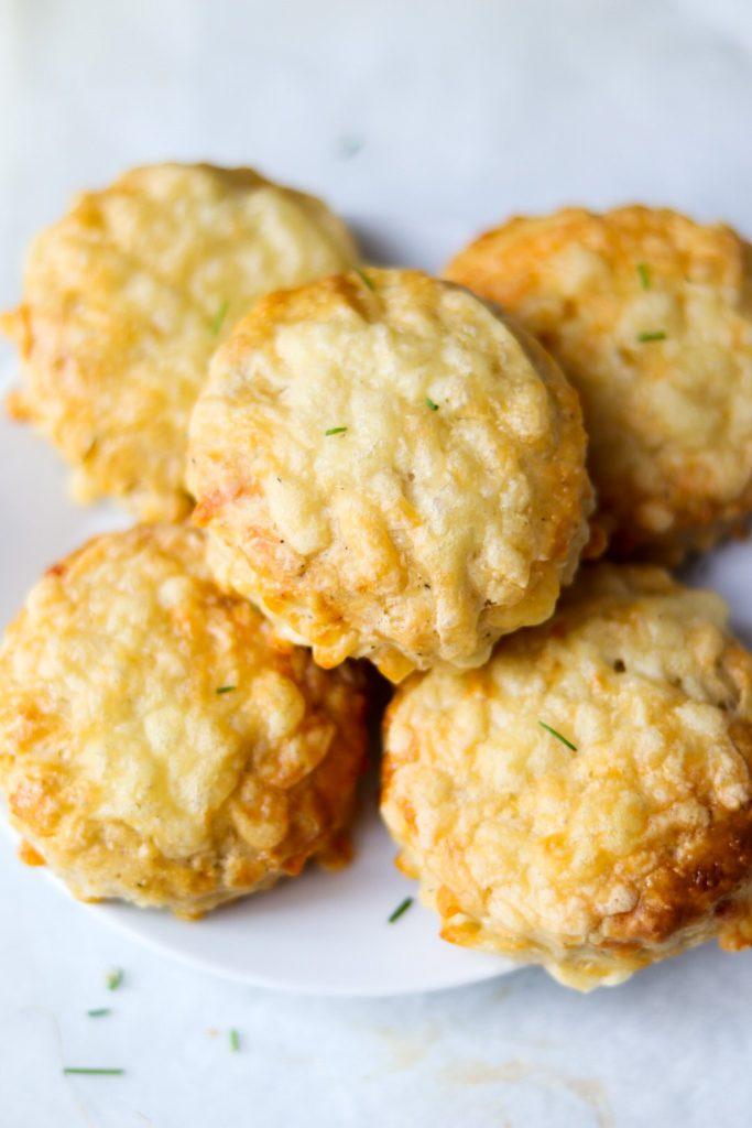 Really cheesy cheese scones