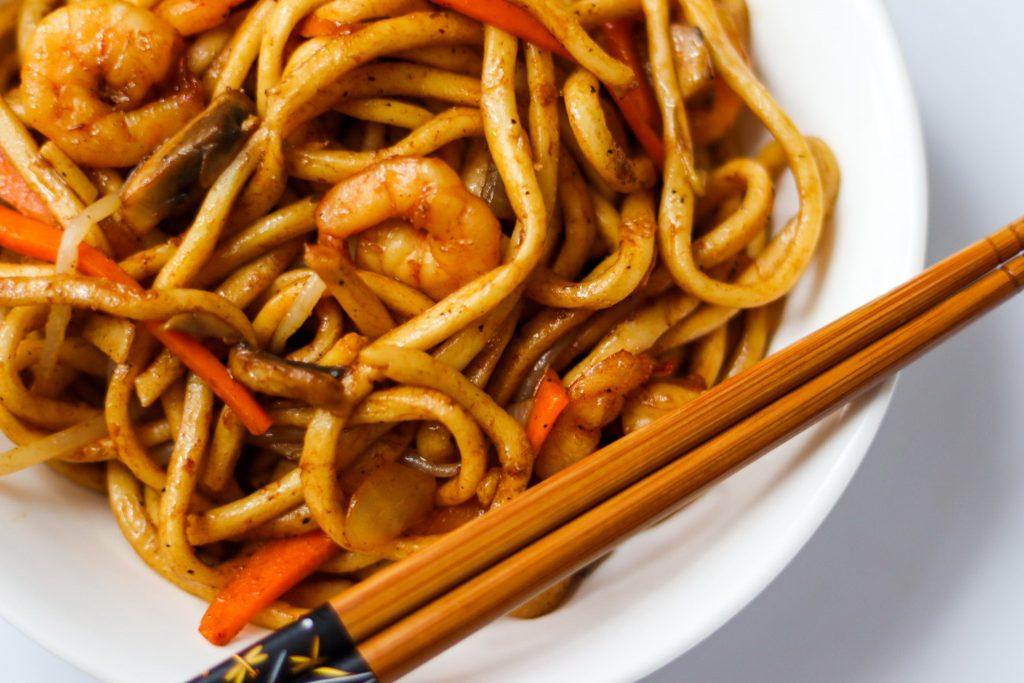 Easy yaki udon noodle recipe