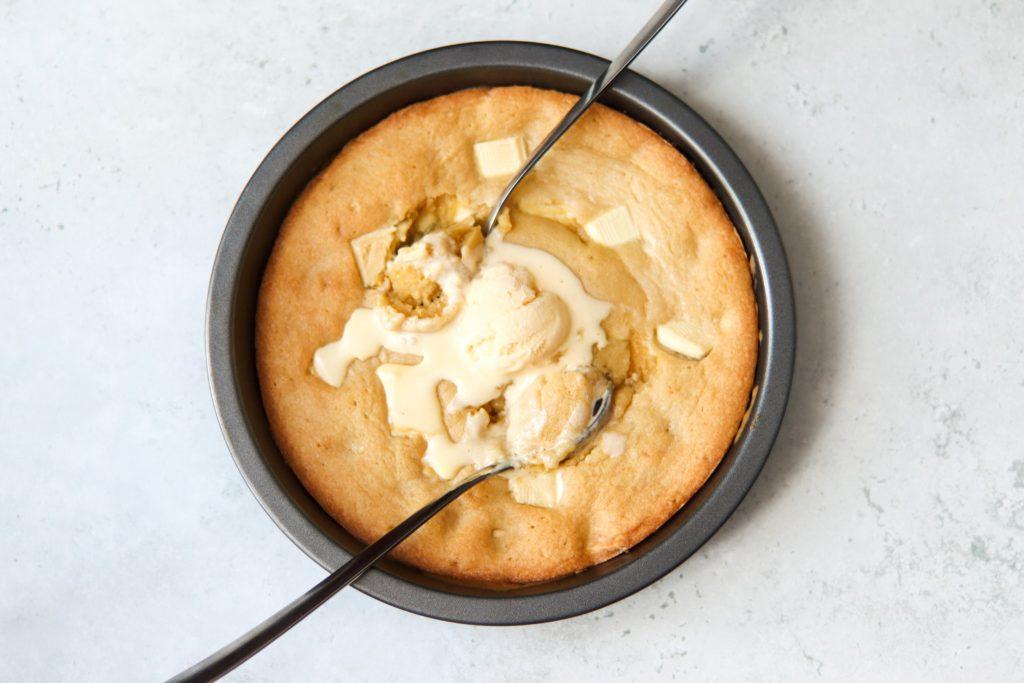 Hot cookie dough recipe